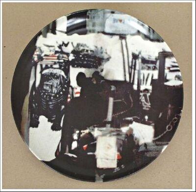 Robert Rauschenberg, 'Untitled Limited Edition Porcelain Plate (Guggenheim Museum)', 1997