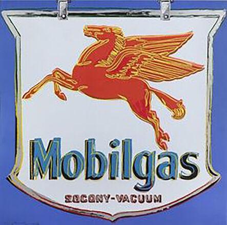 Andy Warhol, 'Ads: Mobilgas', 1985