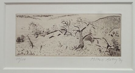 Milton Avery, 'Japanese Landscape', 1939