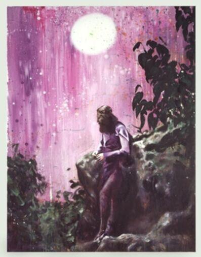 Till Gerhard, 'Green Man in Purple', 2008