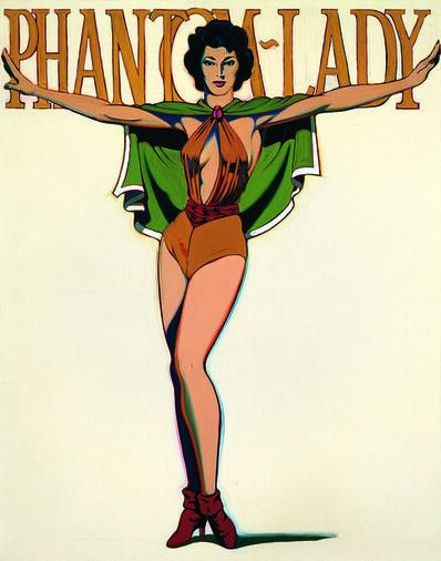 Mel Ramos, 'Phantom Lady', 1963
