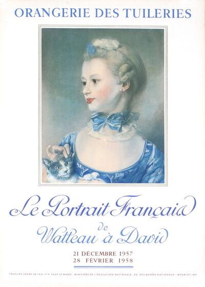 Henri Fantin-Latour, 'Le Portrait Francais', 1957