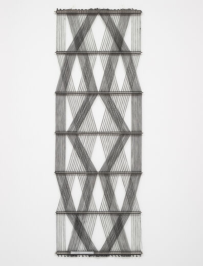 Peter Collingwood, 'Untitled (Black Macrogauze) ''M.89 No. 5''', ca. 1970