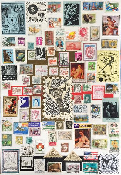 Falves Silva, 'Artist's stamps I, from the series 'Postal Art'', 1998