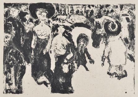 Ernst Ludwig Kirchner, 'Street Life in Dresden', 1908