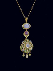 I.M., London, 'Pendant', about 1908