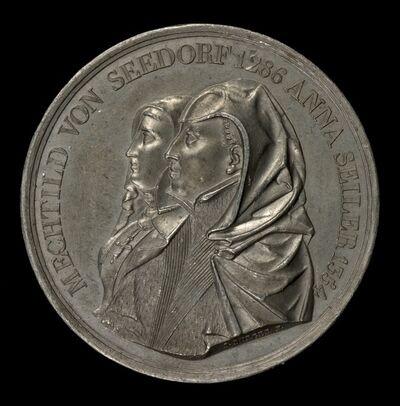 Sebastian Burger, 'Mechtild von Seedorf and Anna Seiler [obverse]', 1818