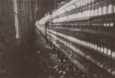 Lewis Wickes Hine, 'Spinning Frames, Kosciusko, Mississippi', 1913
