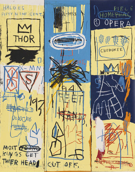 Jean-Michel Basquiat, 'Charles The First', 1982