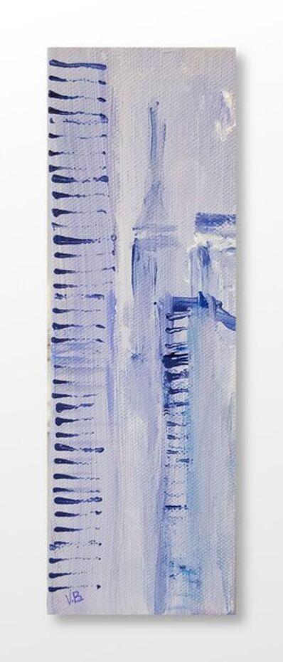 Vian Borchert, 'City Stripes And Fog', 2020