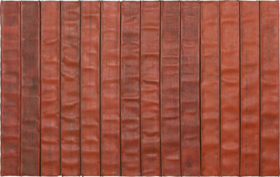 Theaster Gates, 'Red line with black and enthusiasm', 2013