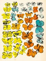 Andy Warhol, 'Happy Butterfly Day; Merry Christmas', 1955