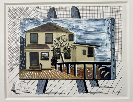 David Hockney, 'A Picture of My New House', 1987