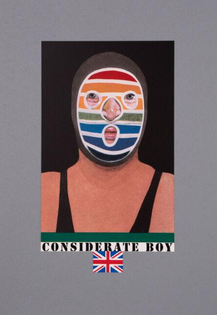 Peter Blake, 'Considerate Boy', 2017
