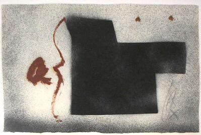 Antoni Tàpies, 'Senyors lll', 1998