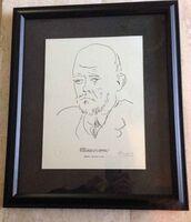 Pablo Picasso, 'Portrait of Ambroise Vollard, Plate 100', 1967