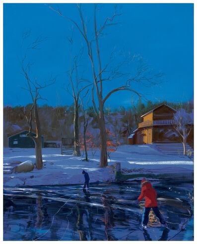 Sebastian Blanck, 'Frozen Lake', 2019