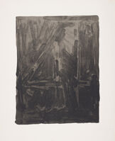 Jasper Johns, 'Figure 4, from Black Numeral Series', 1968