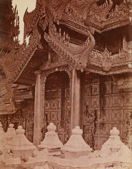 Linnaeus Tripe, 'Doorway of Pyathat, Amerapoora, Burma', 1855