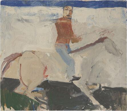 Richard Diebenkorn, 'Untitled (Horse and Rider)', 1954