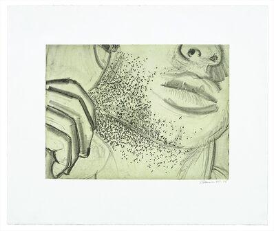 Bruce Nauman, 'Soft Ground Etching - Green', 2007