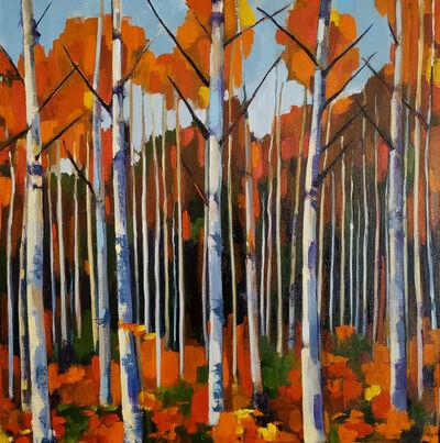 Jenn Hallgren, 'Birch Forest 1', 2019