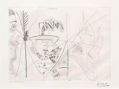 Pablo Picasso, 'Ecuyere de Cirque..., from the 347 Series', 1968