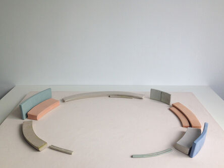 Patricia Dauder, 'Model #6 (Elliptical system. Day and night)', 2016