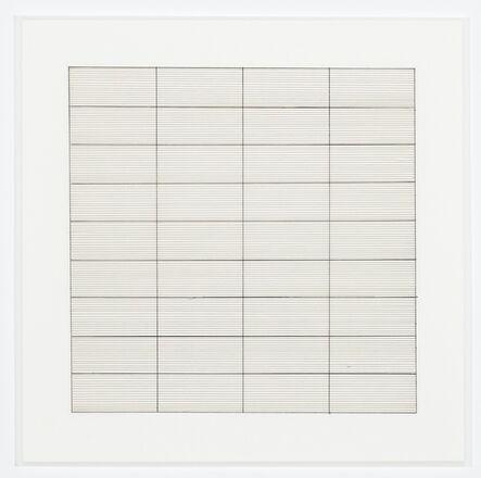 Agnes Martin, 'Untitled (1)', 1991