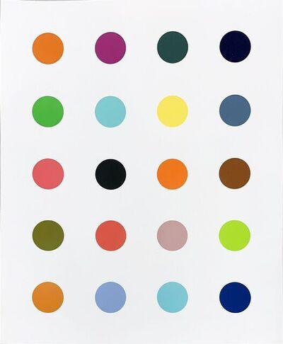 Damien Hirst, '3 - Methylthymidine (White)', 2014