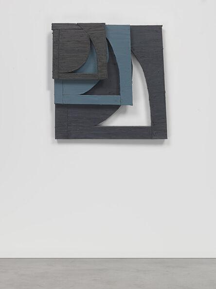 Wyatt Kahn, 'Bits (Gray, Black, and Blue)', 2018