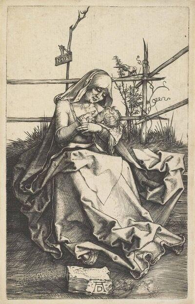 Albrecht Dürer, 'The Virgin and Child on a grassy Bench (B. 34; M., Holl. 31; S.M.S. 36)', 1503