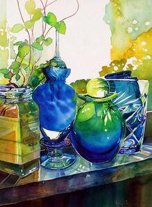 Carolyn Owen Sommer, 'Roots On My Windowsill', 2014