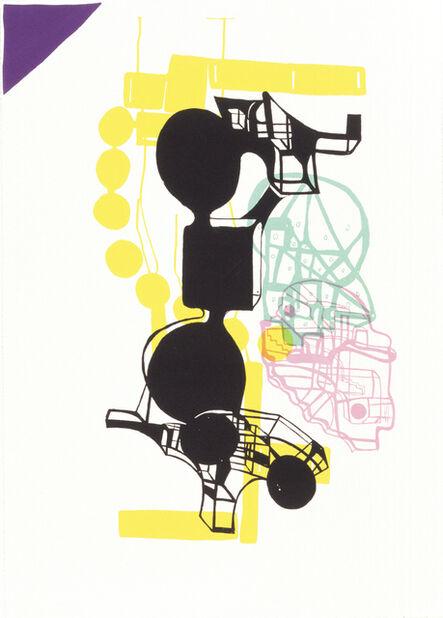 Joanne Greenbaum, 'Untitled Outtakes: # 1', 2002