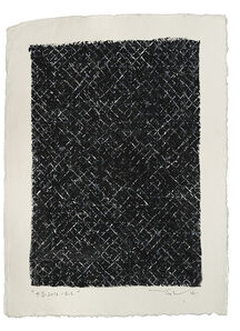 Ding Yi 丁乙, 'Appearance of Crosses 2016-B12', 2016