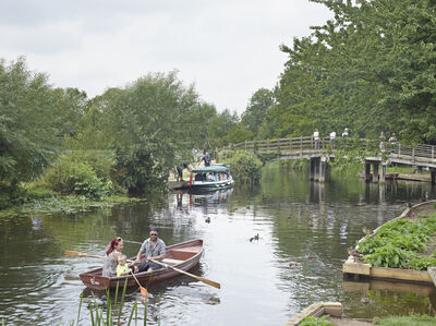 Simon Roberts, 'River Stour at Flatford, East Bergholt, Suffolk, 20 July', 2014