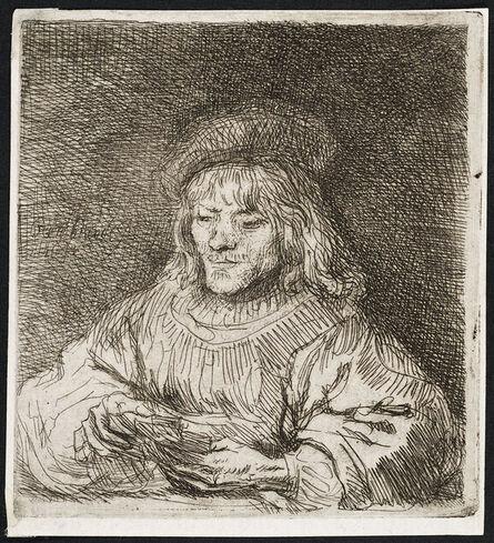 Rembrandt van Rijn, 'THE CARD PLAYER', 1641