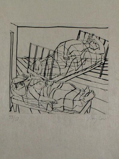 Eduard Bargheer, 'Der Gast', 1965