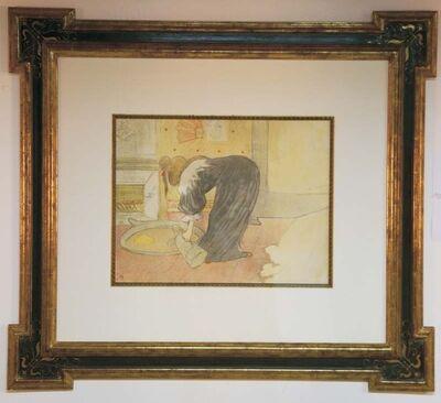 Henri de Toulouse-Lautrec, 'Femme au Tub', ca. 1896