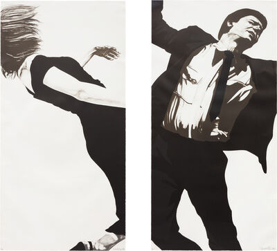 Robert Longo, 'Joanna and Larry, from Men in the Cities', 1983