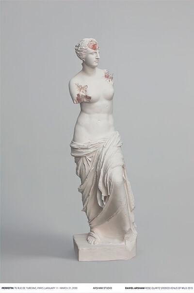 Daniel Arsham, 'Rose Quartz Eroded Venus of Milo', 2019