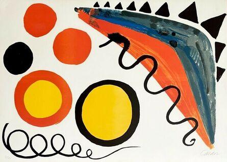 Alexander Calder, 'Cinq Boules et Deux Serpents', 1965