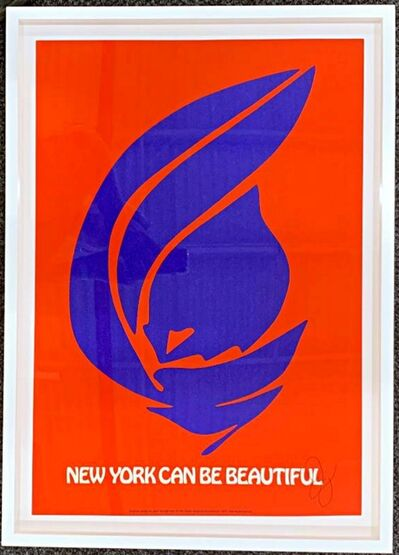 Jack Youngerman, 'New York Can Be Beautiful (Hand Signed)', 1971