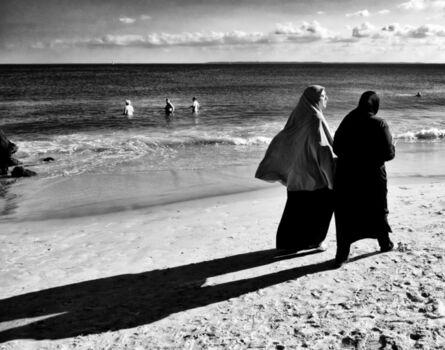 Jake Lambroza, 'Burqas at Coney Island '