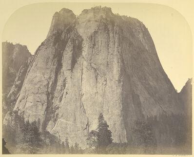 Carleton E. Watkins, 'Cathedral Rock - Yo Semite', 1861