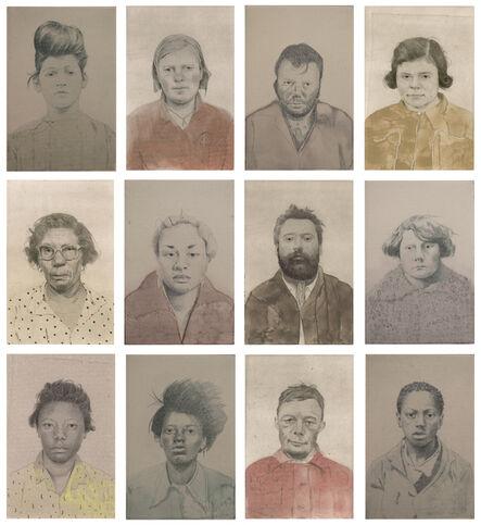 Sarah Ball, 'Untitled Portraits', ca. 2018/19