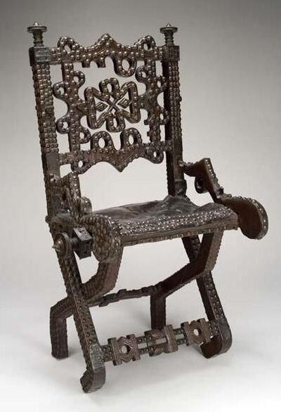 'Prestige Chair (Akonkromfi)', 1851-1900