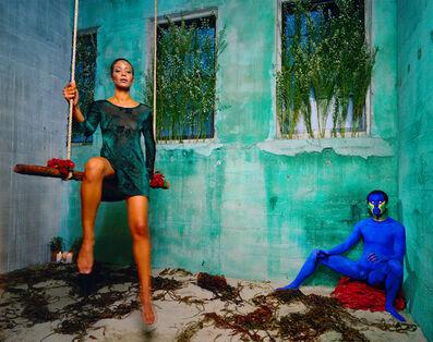 Lyle Ashton Harris, 'Untitled (Blue)', 1998