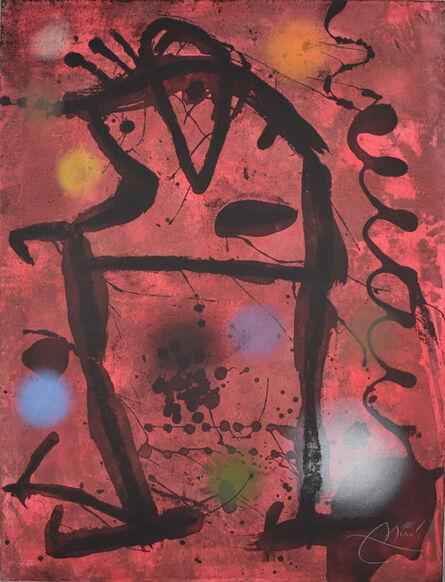 Joan Miró, 'Large Cave Paintings VII   Gran Rupestres VII', 1979