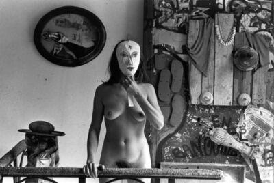 Liliana Maresca, '¨Untitled. Liliana Maresca with her artworks.¨', 1983
